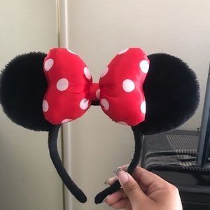 Red and White Minnie Ears